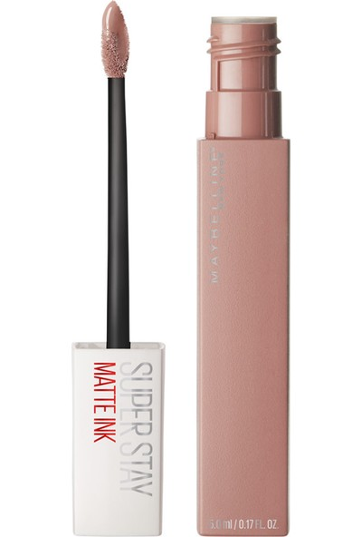 Maybelline New York Super Stay Matte Ink Likit Mat Ruj - 05 Loyalist - Nude