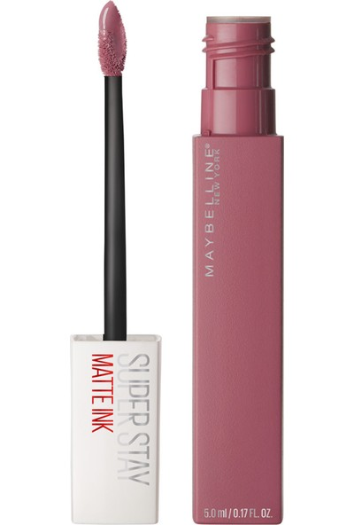 Maybelline New York Super Stay Matte Ink Likit Mat Ruj - 15 Lover - Pembe