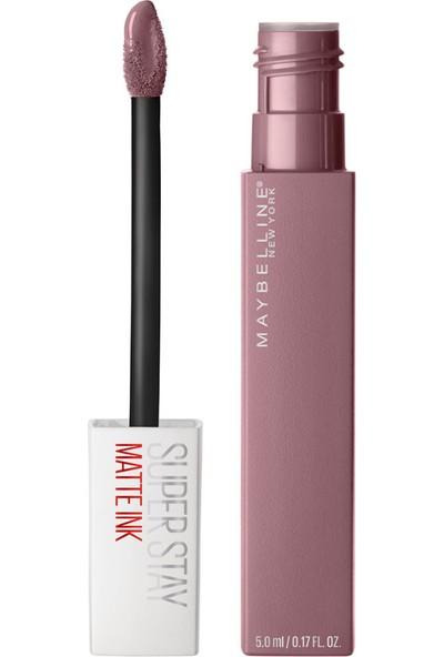 Maybelline New York Super Stay Matte Ink Likit Mat Ruj - 95 Visionary - Gri/Mor