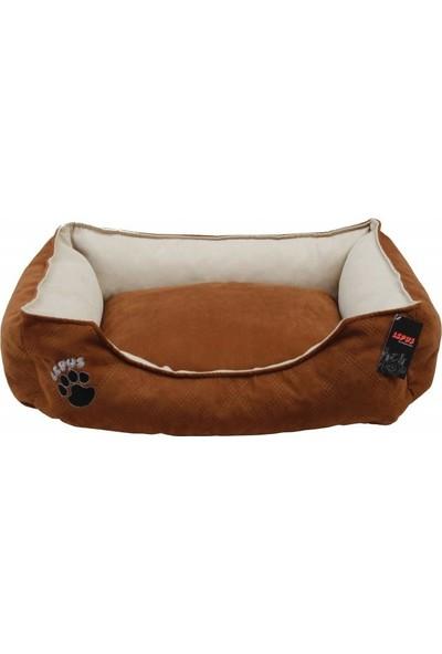 Lepus Soft Plus Köpek Yatağı Kahverengi L 24 x 75 x 60 cm