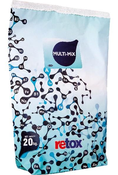 Reva Retox Multimix Yüksek Süt Verimli Hayvanlar İçin Yem Katkısı 20 kg