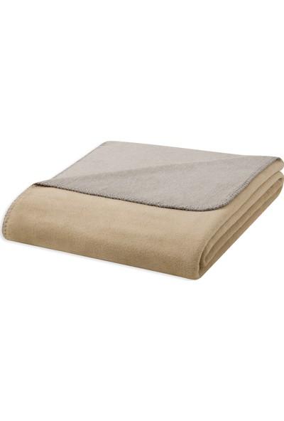 Yataş Bedding Royal Battaniye-Bej (Çift Kişilik - 200X200 Cm)