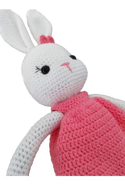 Nuh Home El Yapımı Doğal Oyuncak Tavşan Bebek