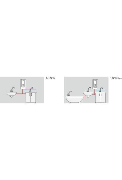 Kospel PPH21 Hidrolik Trifaze Ani Su Isıtıcı