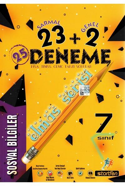 Startfen Yayınları 7. Sınıf Sosyal Bilgileri Elmas Serisi 23 + 2 Deneme