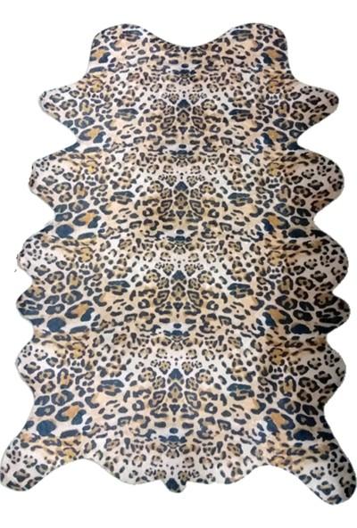 Dora Baskılı Deri Leopar Post 160 x 200 cm