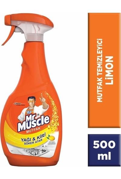 Mr. Muscle Mutfak Sprey Limonlu 500 ml