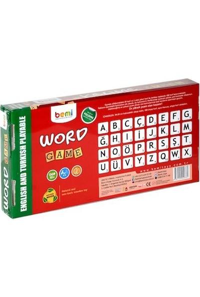 Bemi Kelime Oyunu Tükçe - Ingilizce