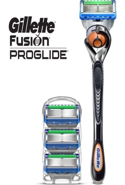 Gillette Fusion5 Proglide Makine + 3 Yedek