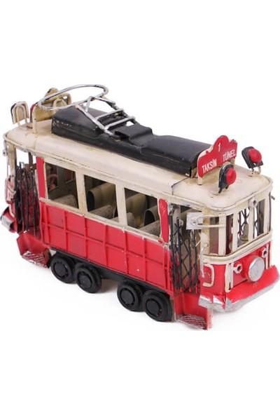 MNK Dekoratif Metal Taksim Tramvay Orta Boy