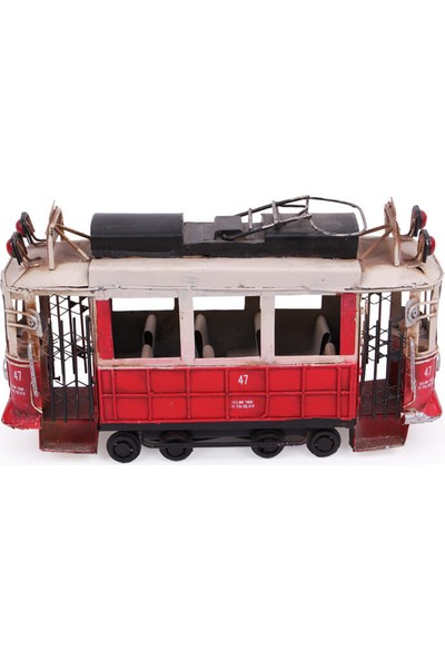 MNK Dekoratif Metal Taksim Tramvay