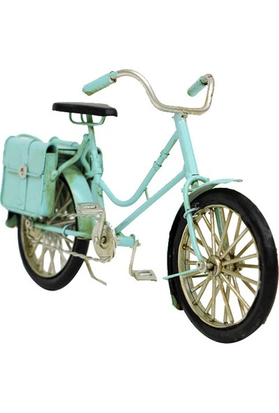 MNK Dekoratif Metal Bisiklet Çantalı