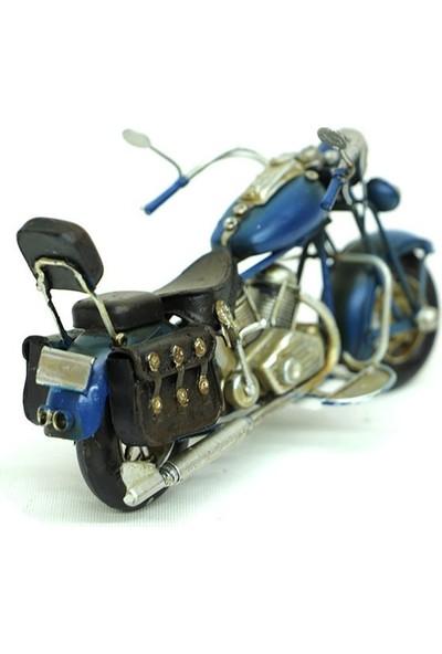 MNK Vintage Tarz Dekoratif Metal Motosiklet