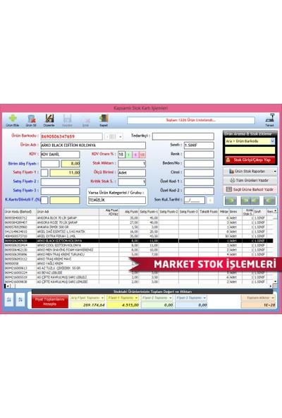 DemirSoft Barkod Okuyucu + Market Barkodlu Satış Programı