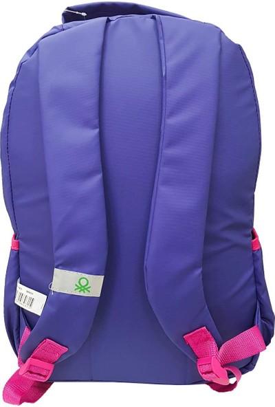 United Colors Of Benetton Okul Sırt Çantası Mor 96031