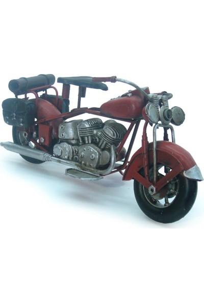 MNK Chopper Tarz Dekoratif Metal Motosiklet