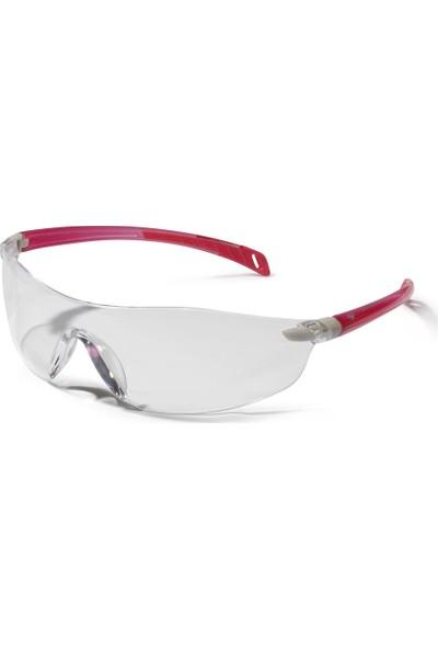 Swiss One Seema İş Gözlüğü Şeffaf Lens Pembe Çerçeve Bayanlara