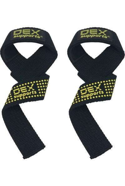Dex Supports Lifting Strap Siyah Sarı