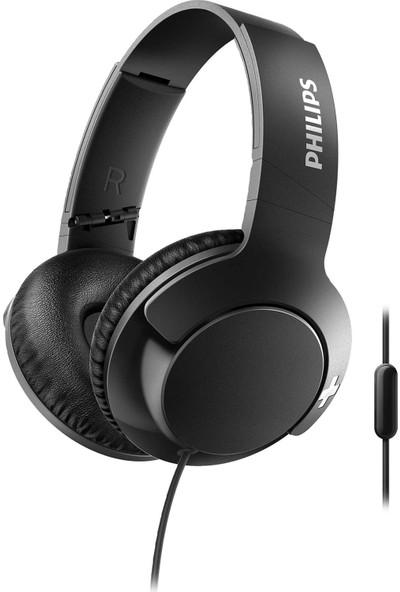 Phılıps SHL3175BK Bass+ Kablolu Kafa Üstü Kulaklık