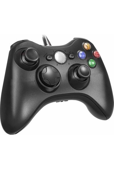 Xbox 360 PC Uyumlu Wired Kablolu Kol Gamepad Joystick Controller