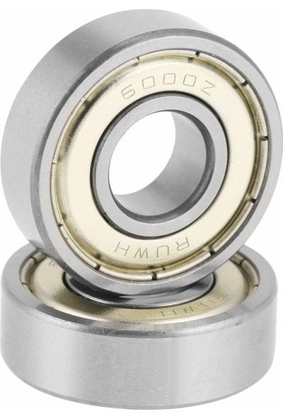 Dünya Magnet Rulman 10'lu 6000ZZ Metal Mühürlü 7 x 19 x 6 mm Bilya Rulman