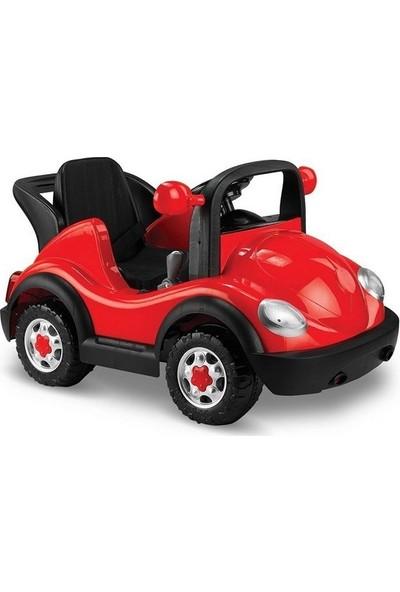 BABY2GO Uzaktan Kumandalı 12V Akülü Araba Kırmızı