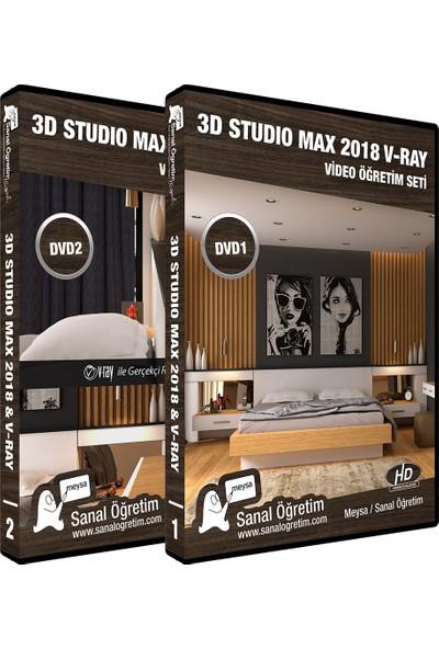 Sanal Öğretim Meysa Studio Max 2018 ve V-Ray Video Eğitim Seti