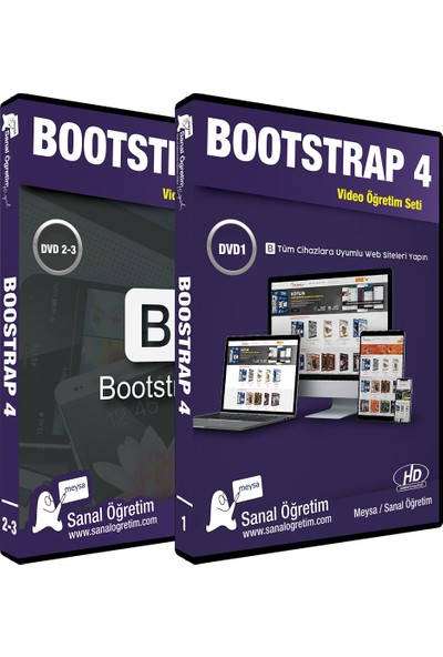 Sanal Öğretim Meysa Bootstrap 4 Video Eğitim Seti