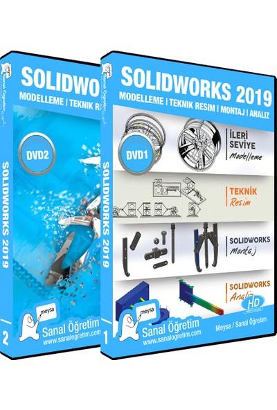 Sanal Öğretim Meysa Solidworks 2019 Montaj, Analiz, Teknik Resim, Modelleme Video Öğretim Seti