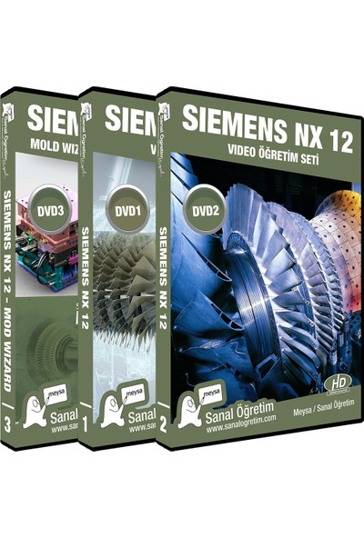 Sanal Öğretim Meysa Siemens NX12 ve Mold Wizard Video Ders Eğitim Seti