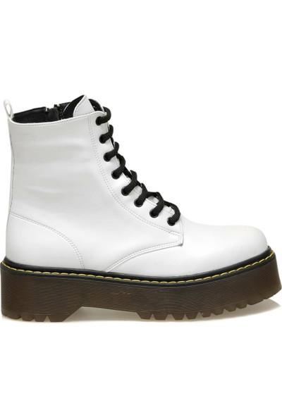 Butigo 19K-453 Beyaz Kadın Bot