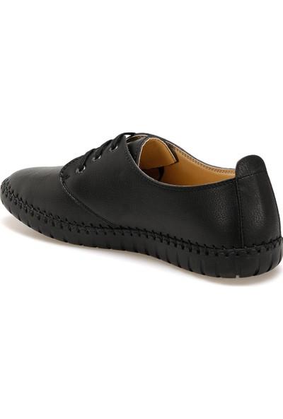 Flexall Al-23 Siyah Erkek Klasik Ayakkabı