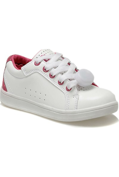 H60707-Yd28 Beyaz Kız Çocuk Sneaker