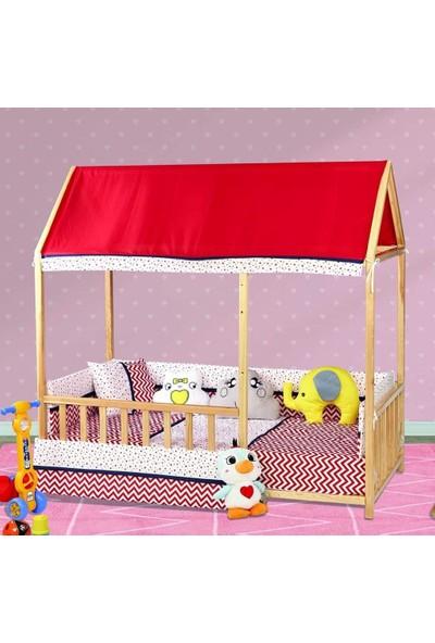 Aras Bebe Tofin Pamuklu Montessori Uyku Seti