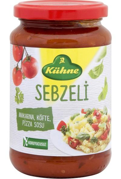 Kühne Koruyucu Içermeyen Sebzeli Makarna Köfte Pizza Sosu 350 gr