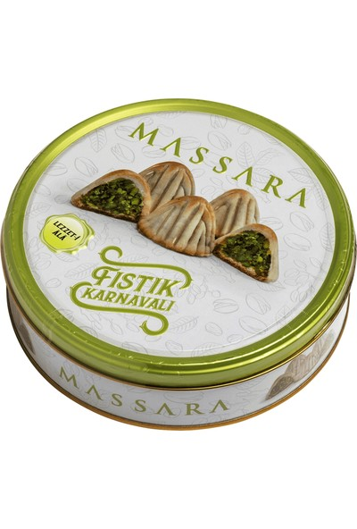 Massara Fıstık Karnavalı Fıstıklı Kurabiye 160 gr