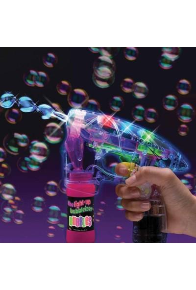 Can Toys Köpük Tabancası Işıklı Pilli Baloncuk Tabancası ve 500 ml Solüsyon
