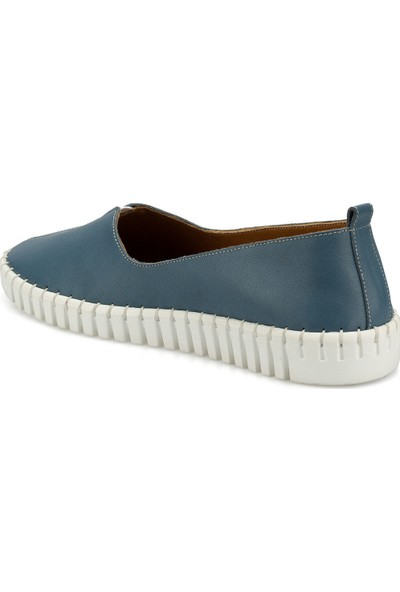 Polaris 103085.Z Mavi Kadın Ayakkabı