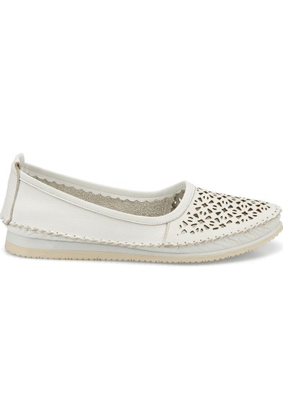Polaris 103092.Z Beyaz Kadın Ayakkabı