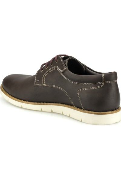 Polaris 160018.M Kahverengi Erkek Dress Ayakkabı
