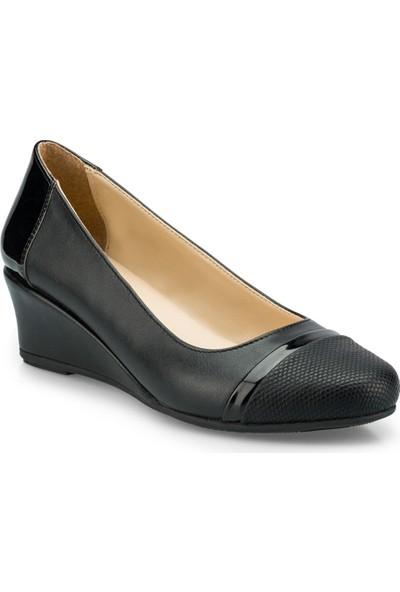Polaris 315150.Z Siyah Kadın Sandalet