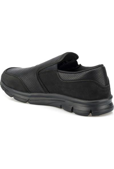 Polaris 356505.M Siyah Erkek Slip On Ayakkabı