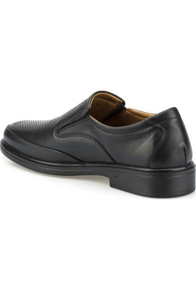 Polaris 5 Nokta 102092.M Siyah Erkek Klasik Ayakkabı