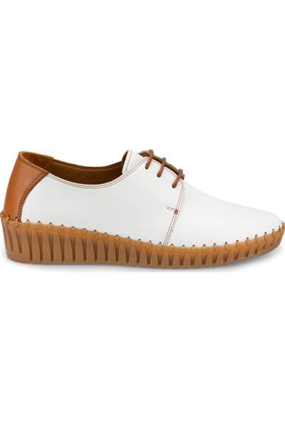 Polaris 5 Nokta 103082.Z Beyaz Kadın Ayakkabı