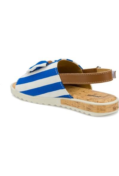 Polaris 512481.F Mavi Fk Sandalet