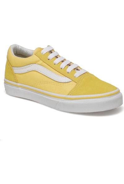 Vans Uy Old Skool Sarı Unisex Çocuk Sneaker