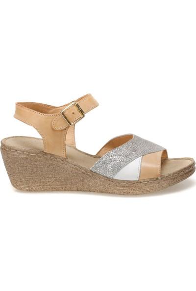 Atema 6874 Turuncu Kadın Sandalet