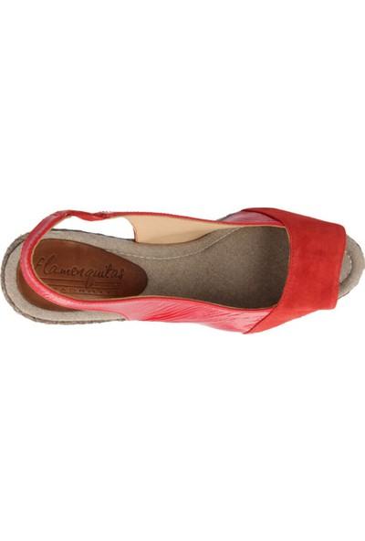 Ska Gıulıa Kırmızı Kadın Ayakkabı