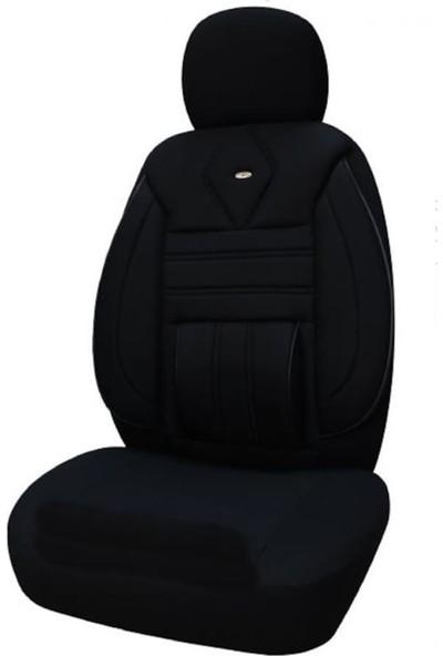 KGS Volkswagen Caddy Orta Oto Koltuk Kılıfı Plus Siyah