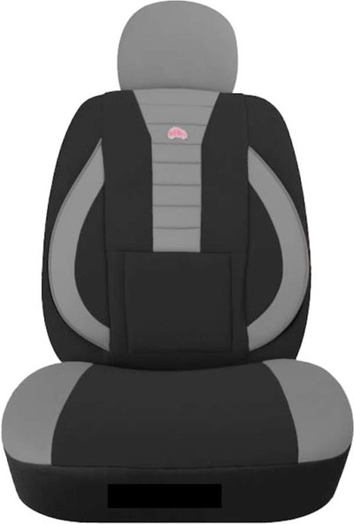 KGS Volkswagen Caddy Orta Oto Koltuk Kılıfı Sport Gri - Siyah